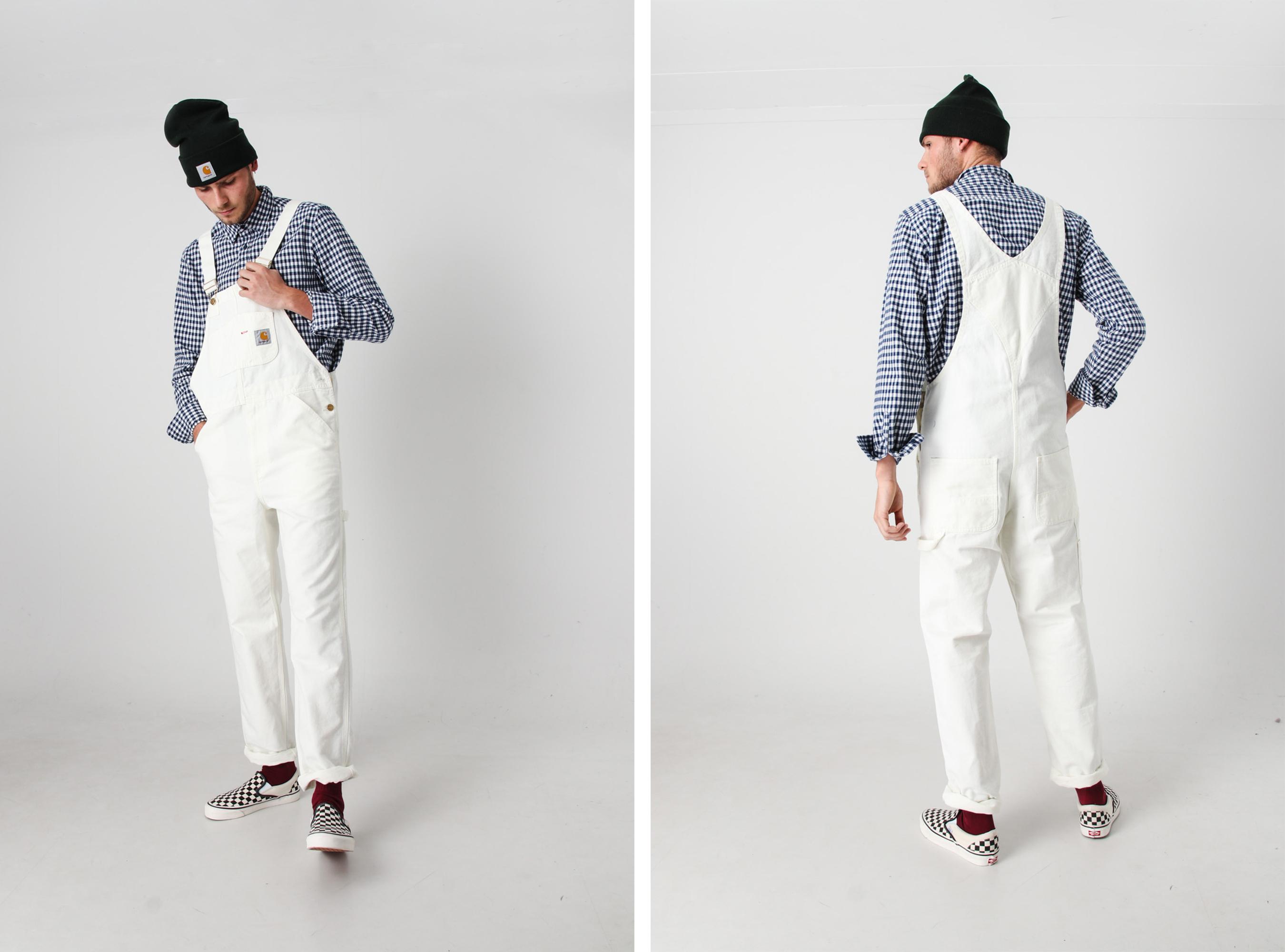 Carhartt Overall White