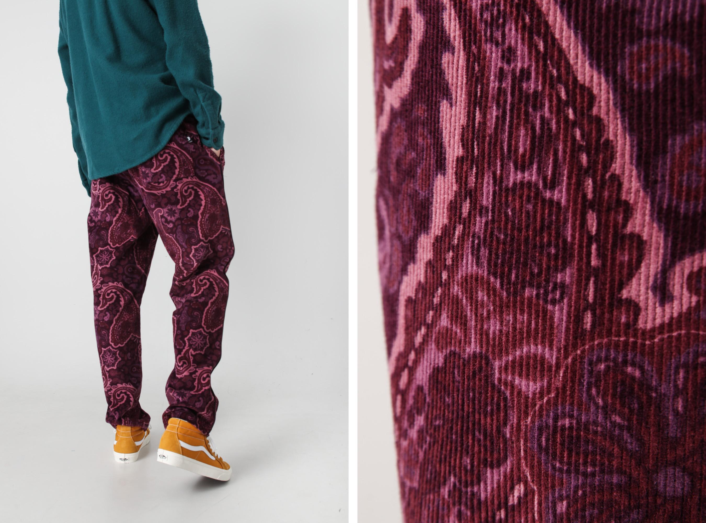 Corduroy Pattern Pant